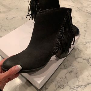 Dolce Vita NWT Women's Anthracite Suede AnkleBoots